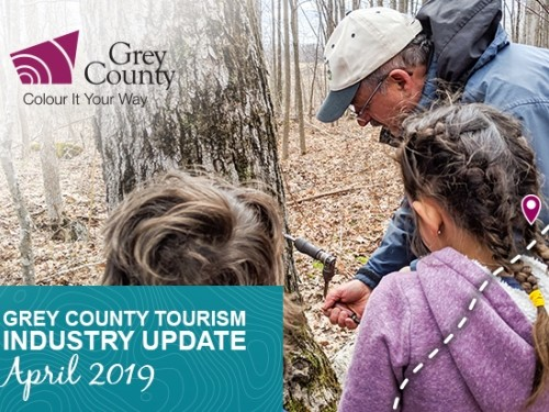 Grey County Tourism Industry Update - April 2019