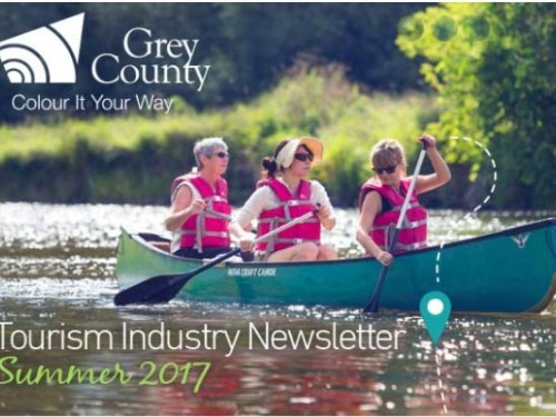 Grey County Tourism Industry Newsletter - Summer 2017