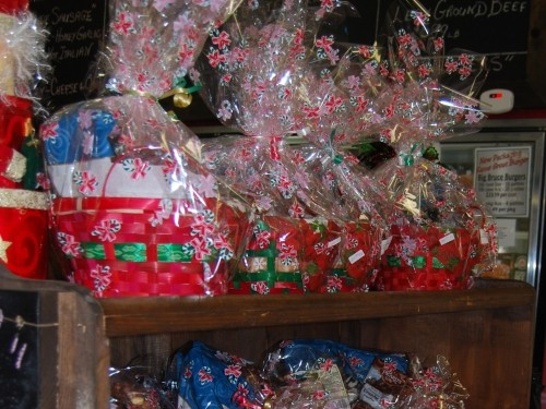 gift baskets at West Grey Beef
