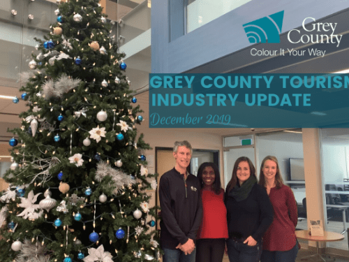 Grey County Tourism Industry Update - December 2019