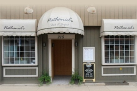 Exterior View of Nathaniel's Restaurant
