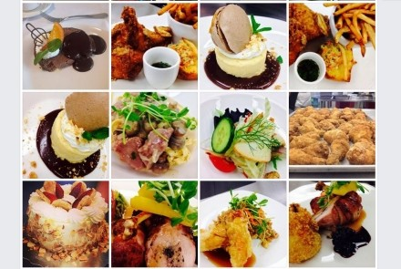 an assortment of dishes from Georgian Dining Room