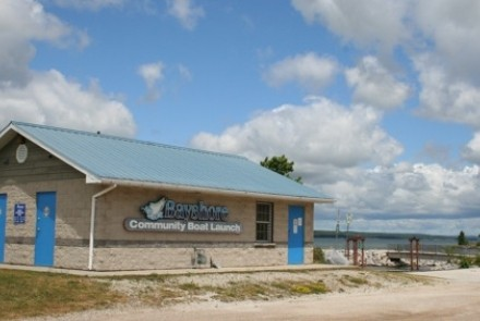 Exterior of East Side Boat Launch at the Bayshore Community Centre